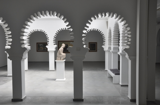 Tetouan Modern Art Museum - north hall